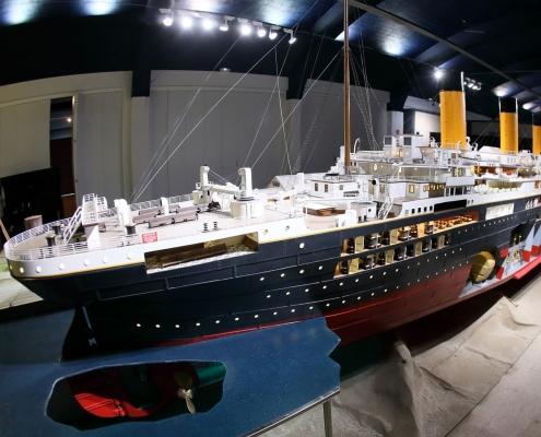 El Titanic más grande del mundo.