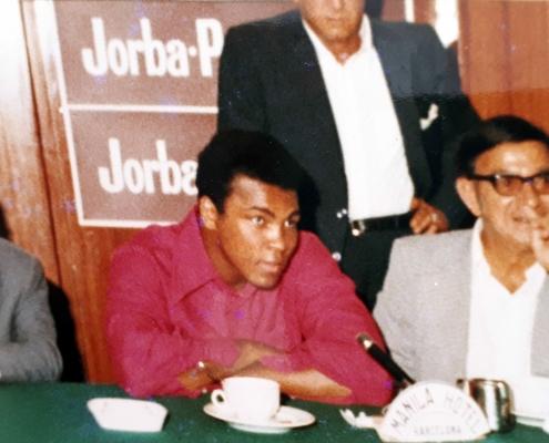 Rueda de Prensa: Muhammad Ali/ Cassius Clay.
