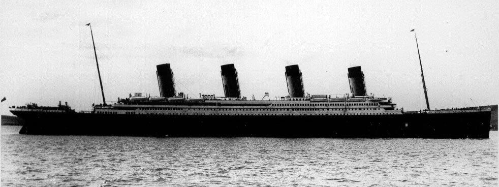 Titanic in Queenstown.