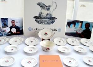 TITANIC Collection. Presentación de la vajilla de la Real Cartuja de Sevilla. Colección de artículos conmemorativos del Centenario.