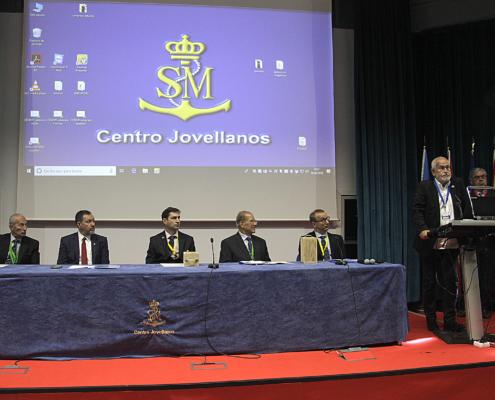 Conferencia de Jesús Ferreiro sobre seguridad en la mar, en el Centro Jovellanos. Gijón, 2018.