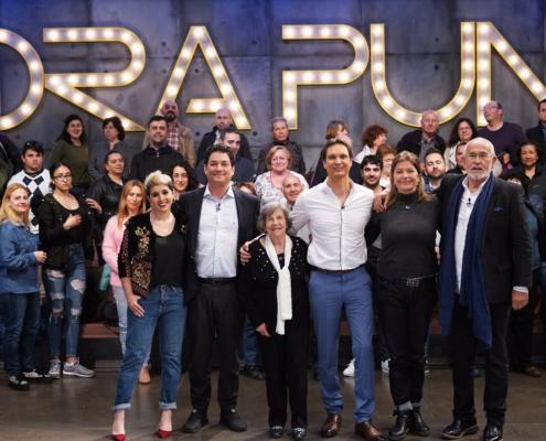 """TVE. """"Hora Punta"""", programa de Javier Cárdenas. Entrevista a Jesús Ferreiro, Presidente de la Fundación Titanic. Barcelona, 2018."""
