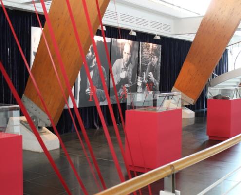 """Muestra en torno la obra del pintor Enrique Gran """"Una GRAN obra:El sueño del Titanic"""", escogida por la Fundación Titanic como icono mundial del centenario del hundimiento del Titanic, Sevilla, 2012."""