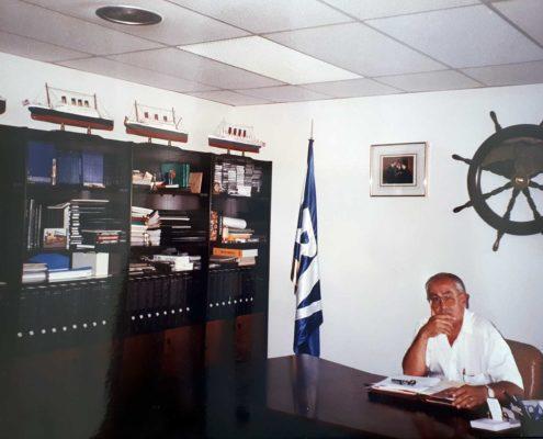 Jesús Ferreiro en su despacho de Barcelona.