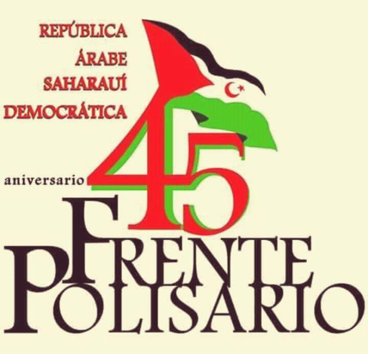 45 Aniversario Frente Polisario.